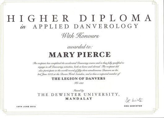 Applied Danverology Diploma