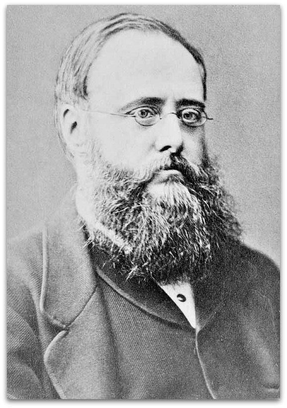 Wilkie Collins photo from Wikipedia.  You barely notice his forehead protuberance in it.  Or his laudanum addiction.