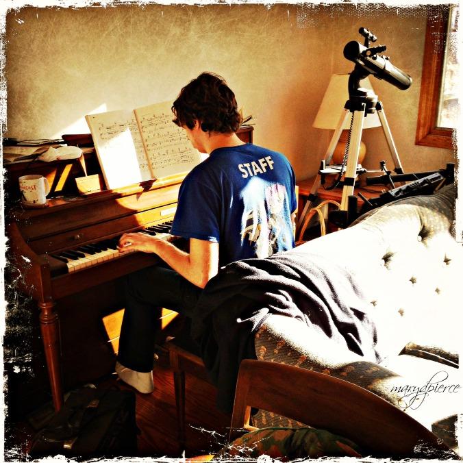 The boy plays, my heart sings. . . .